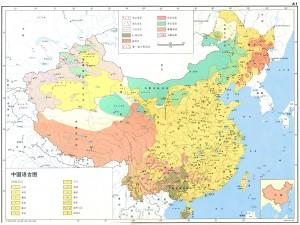 中国語言図